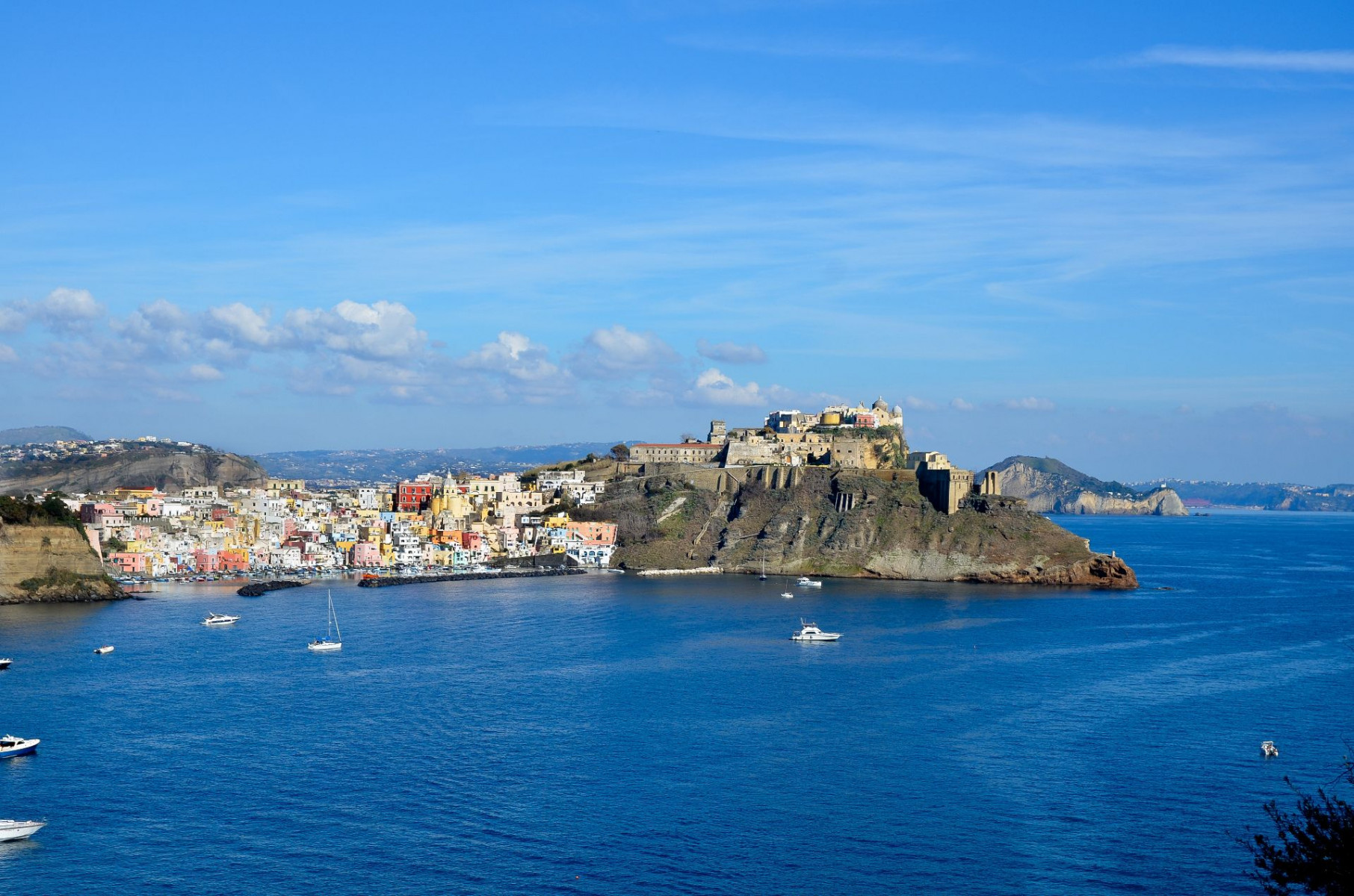 Tour privato in yacht a Procida