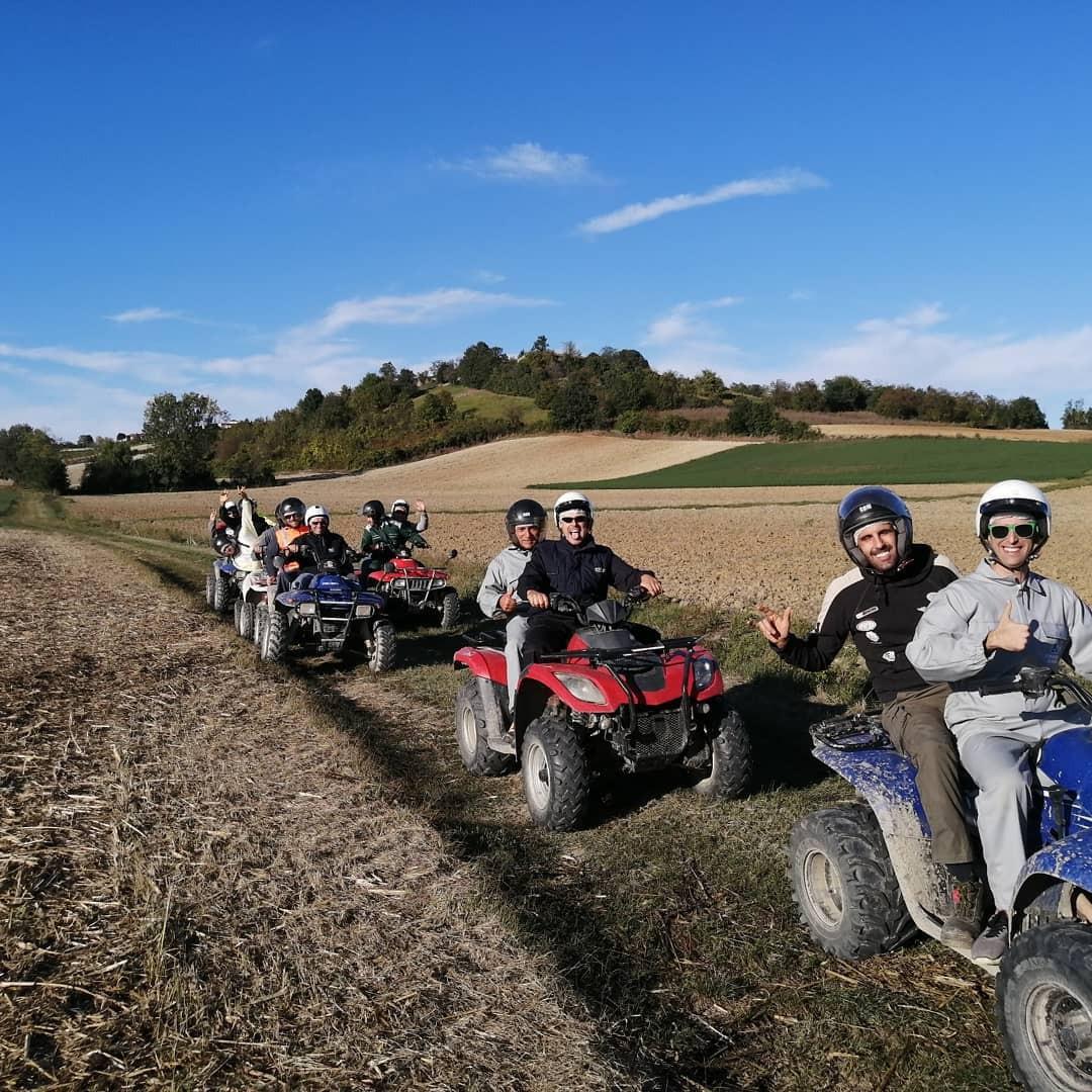 Tour avventuroso in quad sui colli del Monferrato
