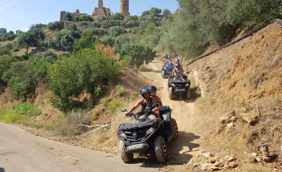 Tour in quad sul Monte Sara a Ribera