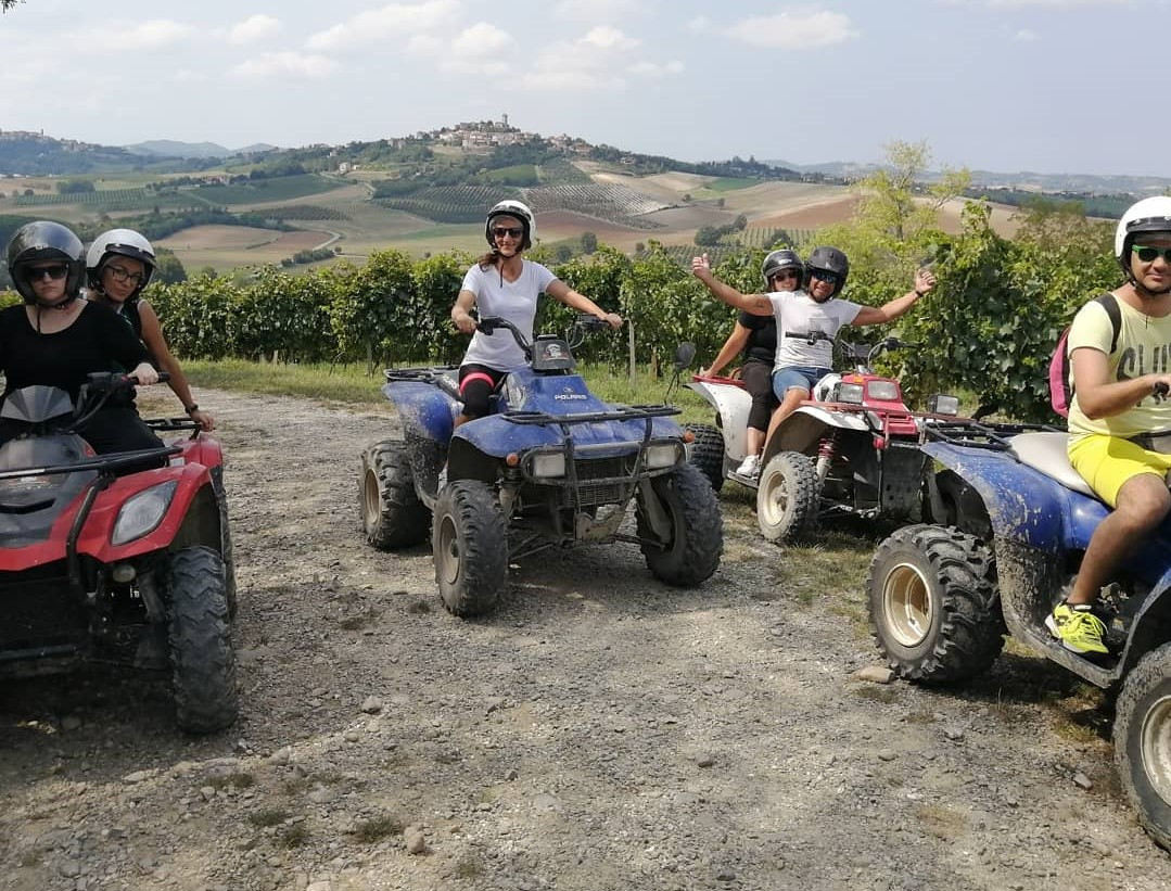 Tour panoramico in quad sui colli del Monferrato