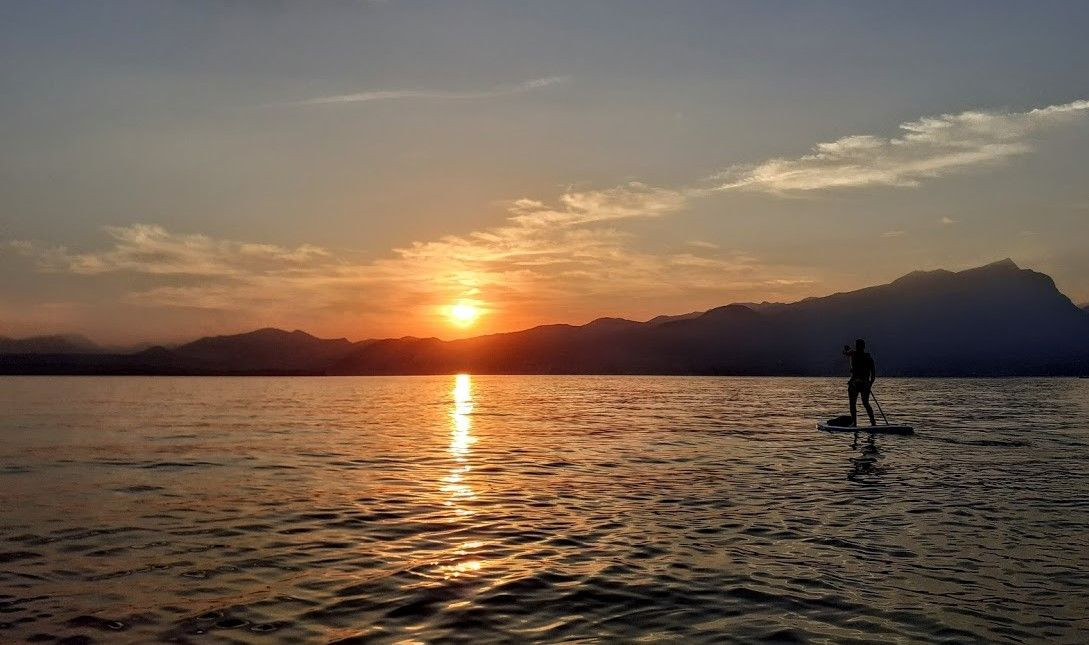 Tour in SUP a Punta San Vigilio sul Lago di Garda