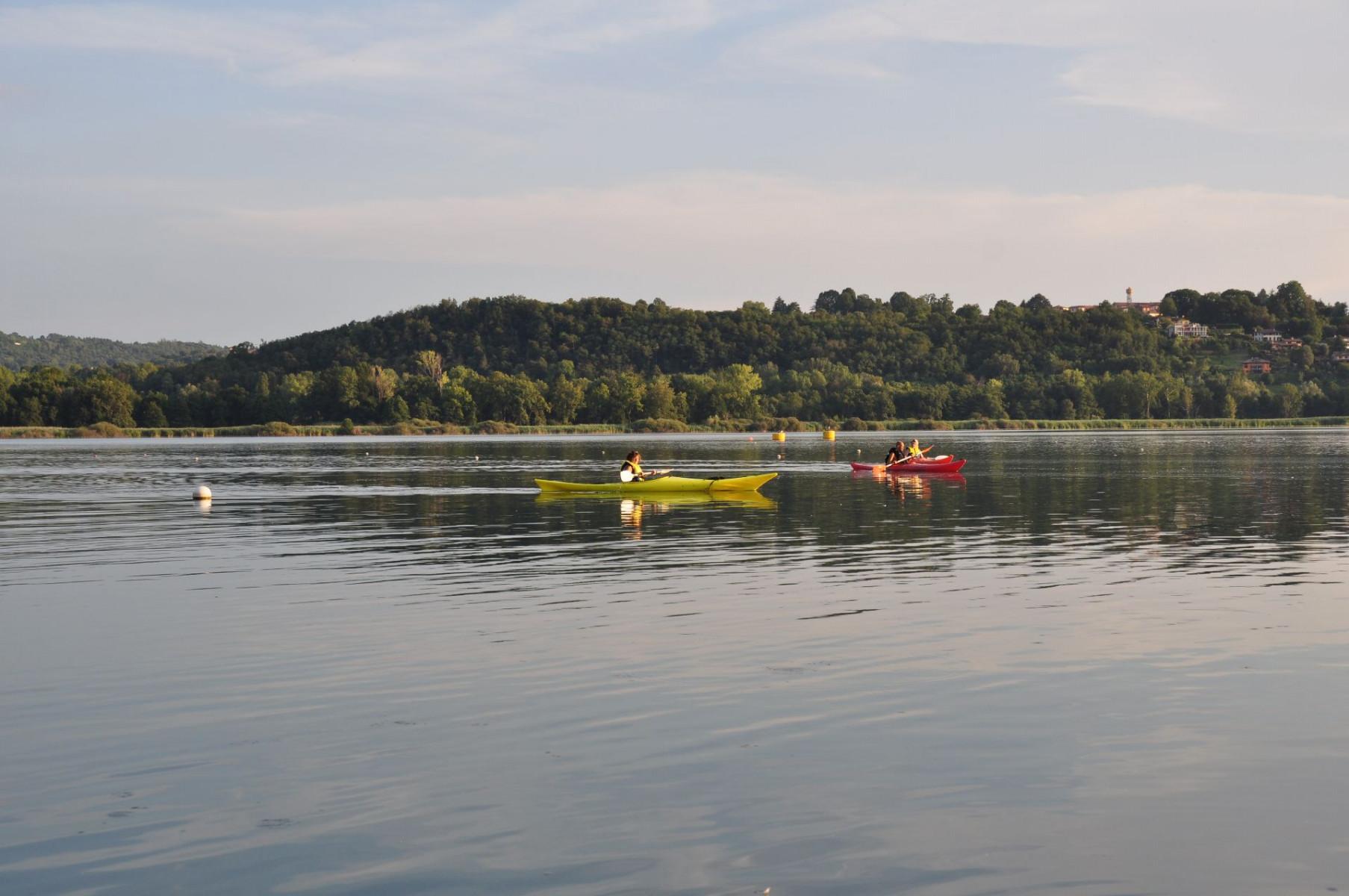 Tour di 1 ora in kayak sul Lago di Varese