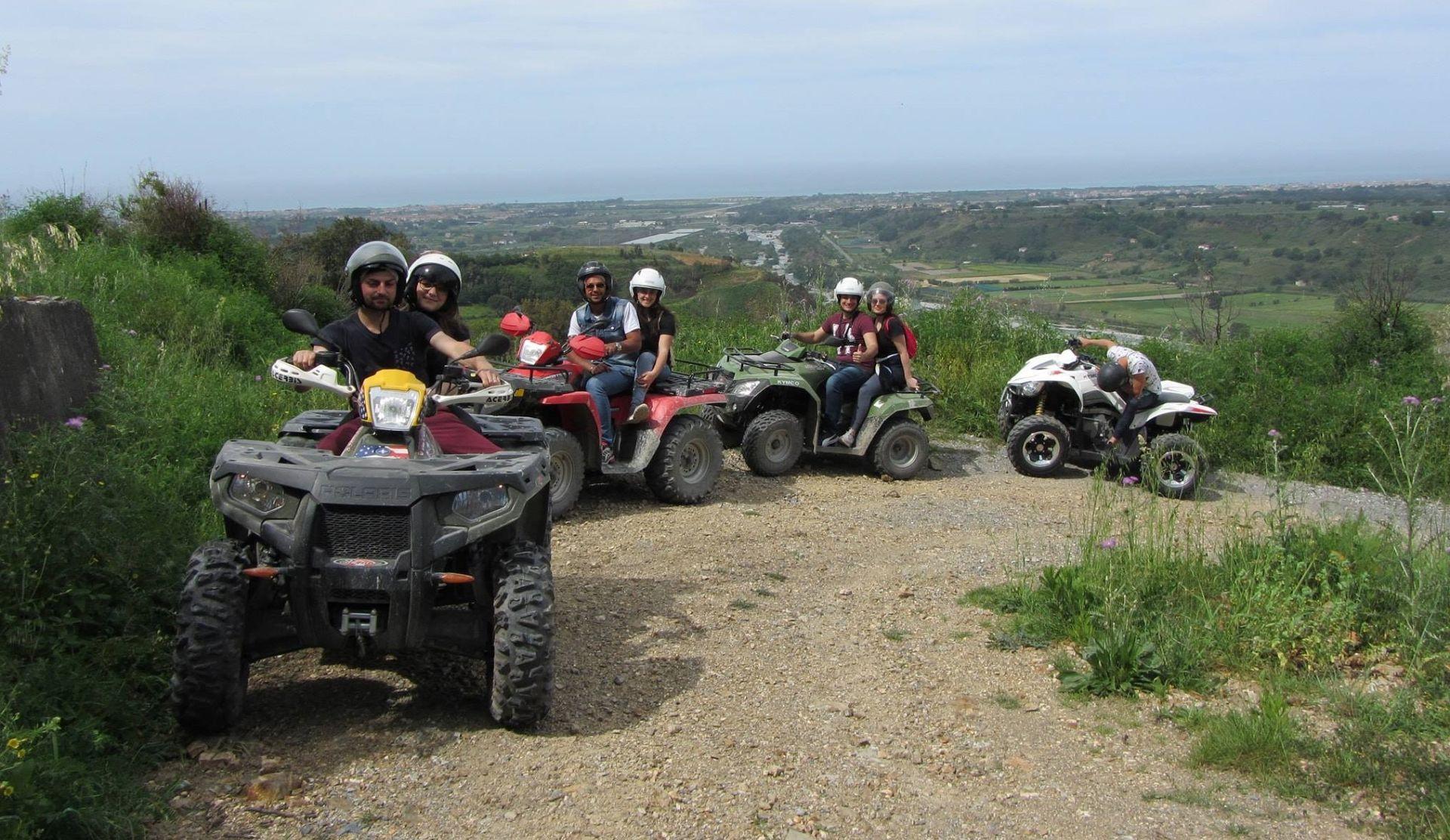 Tour di 1 ora in quad nel Parco Nazionale del Pollino