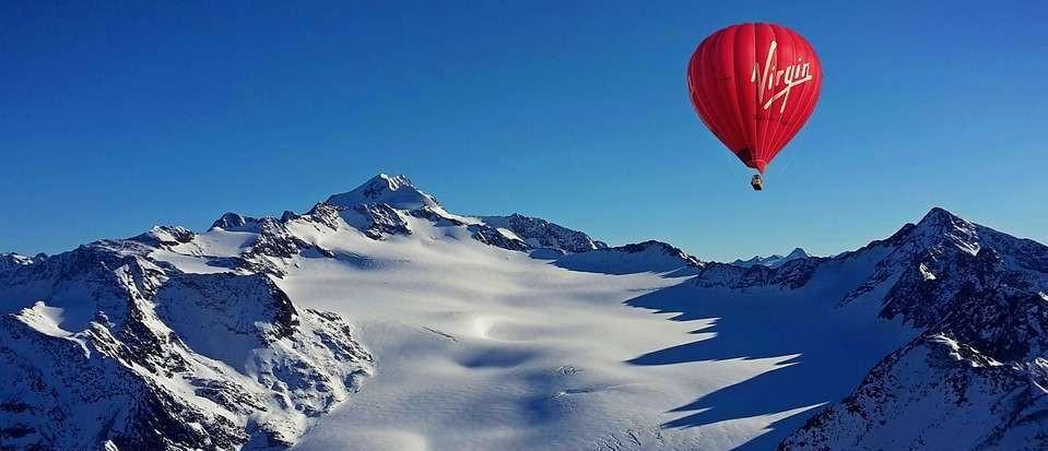 La traversata delle Alpi in Mongolfiera