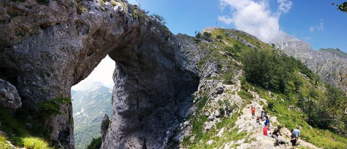 Trekking in Toscana: salita epica al Monte Forato