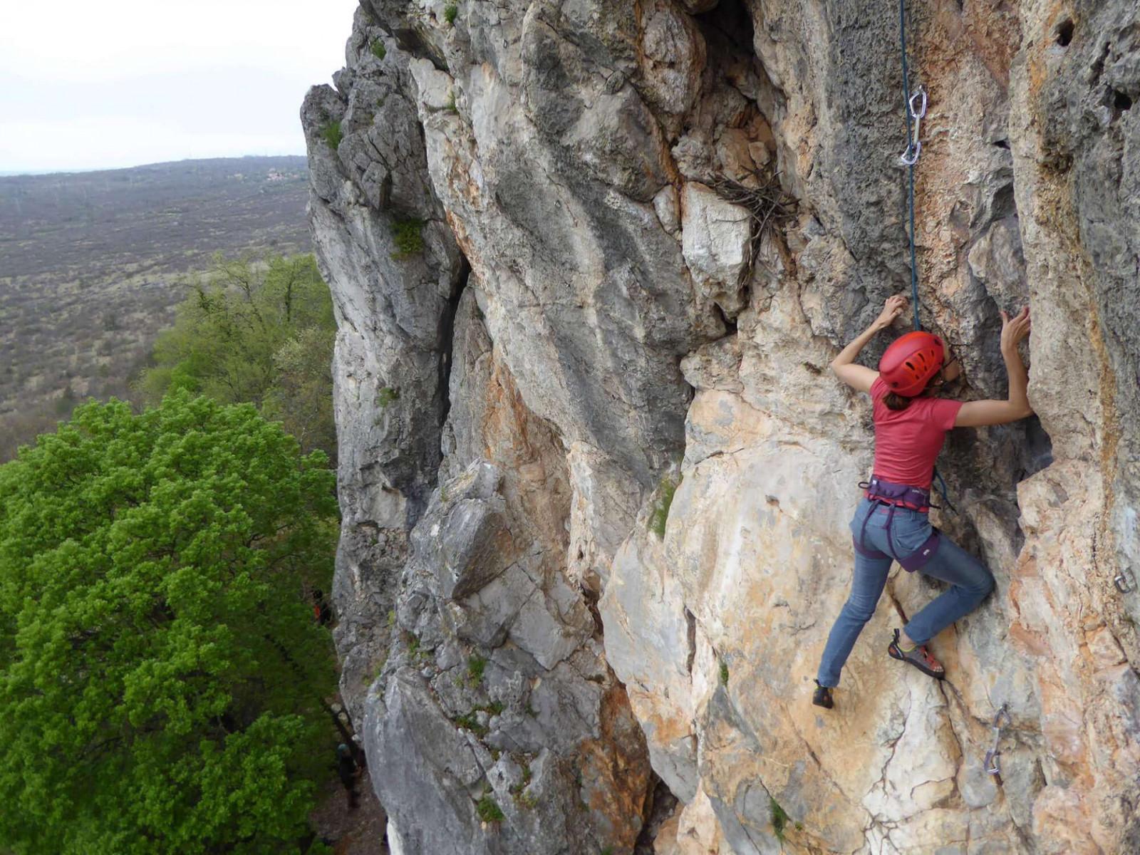 Trieste Climbing Experience: arrampicata sportiva per tutti