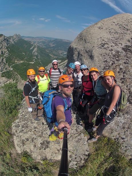 Via ferrata sulle Dolomiti Lucane (PZ)