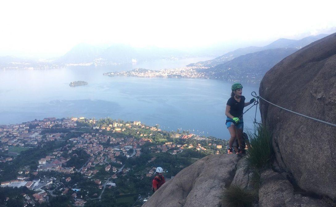 Via ferrata panoramica sul Lago Maggiore (Verbania)
