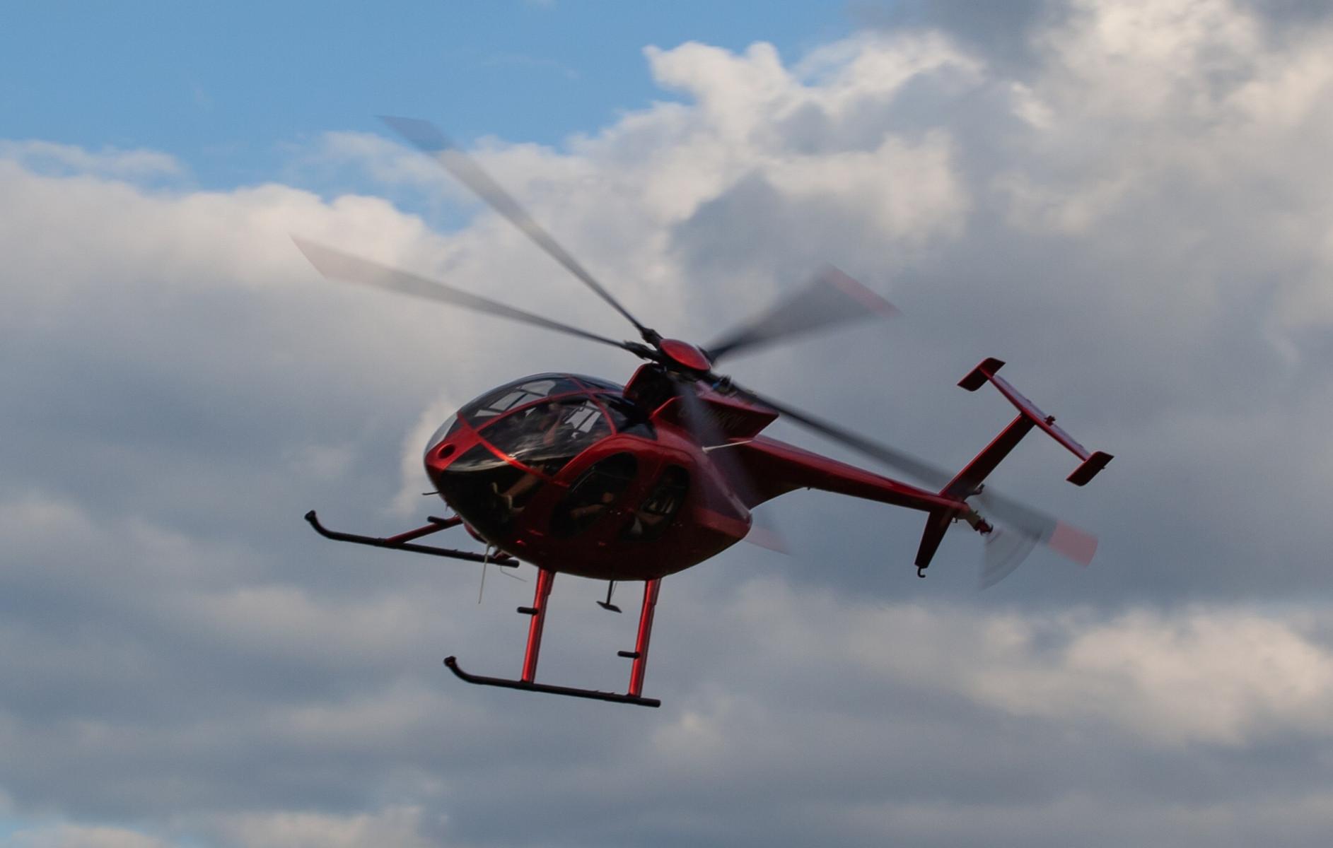 Volo in elicottero sui cieli di Modena
