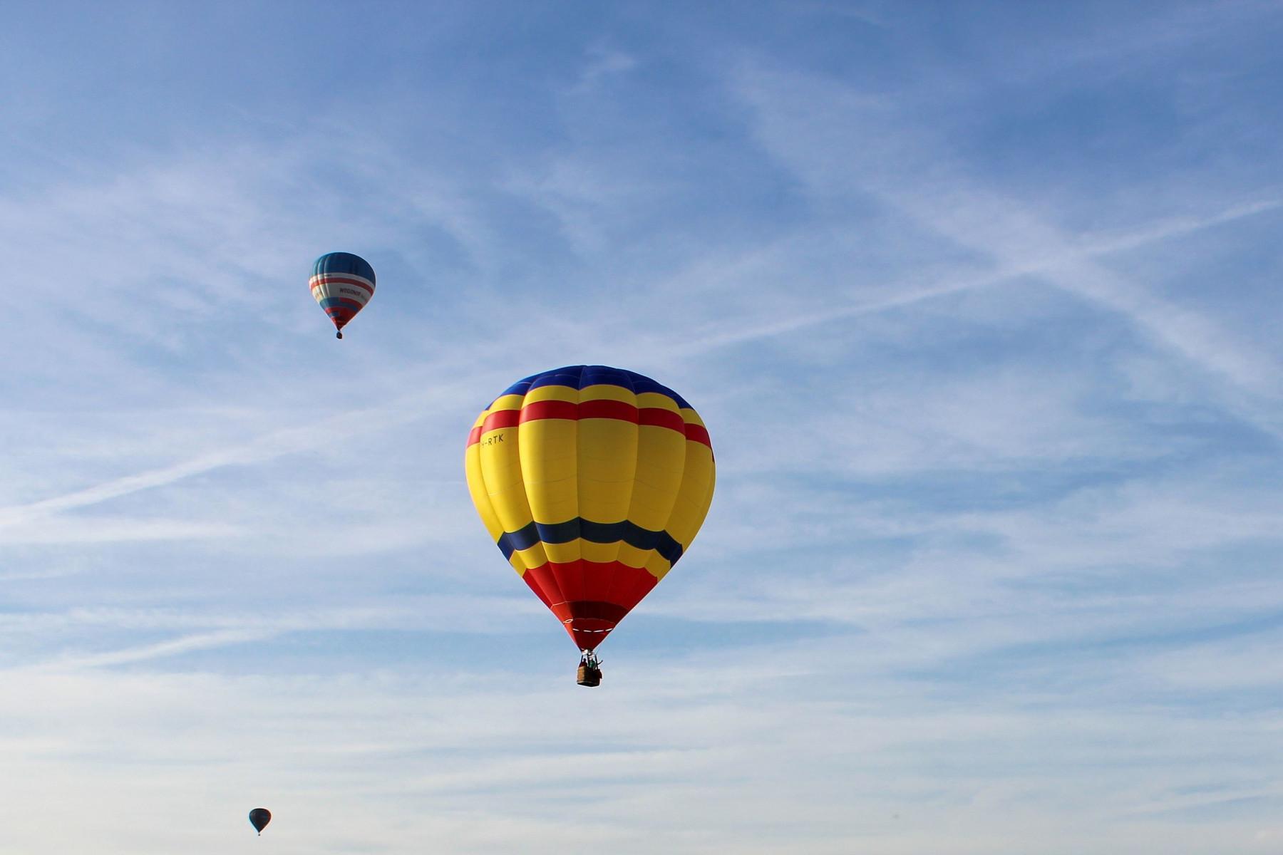 Volo di gruppo in mongolfiera nel cuore della Brianza