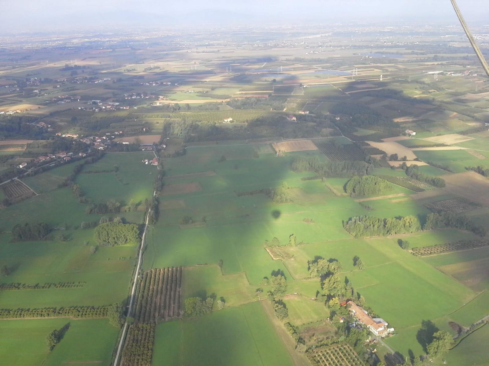 Volo in mongolfiera privato a Barolo (Cuneo)