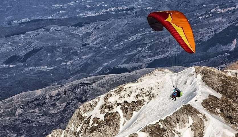 Volo in parapendio biposto a Castelluccio di Norcia (PG)