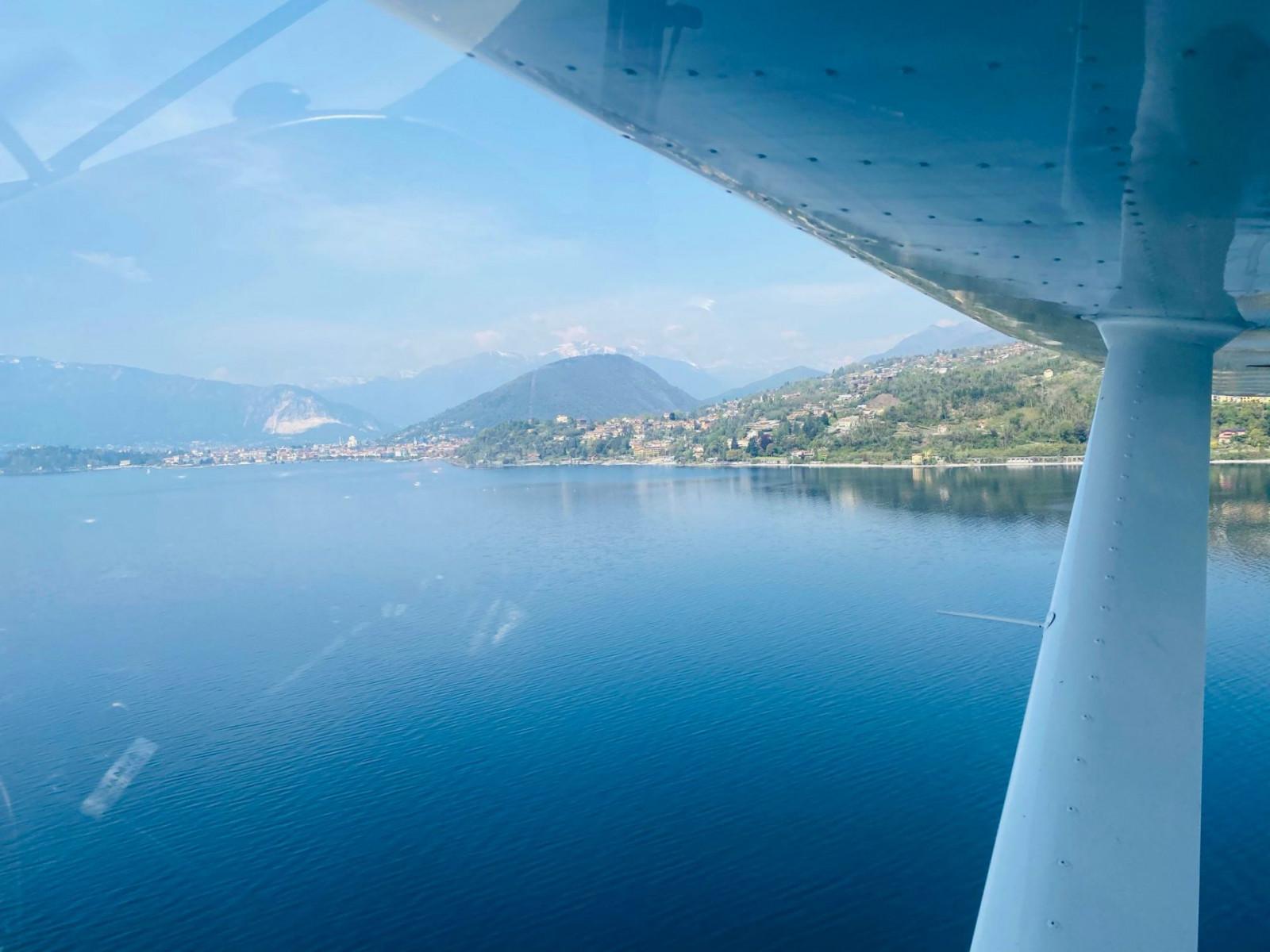 Volo panoramico in ultraleggero sul Lago d'Iseo