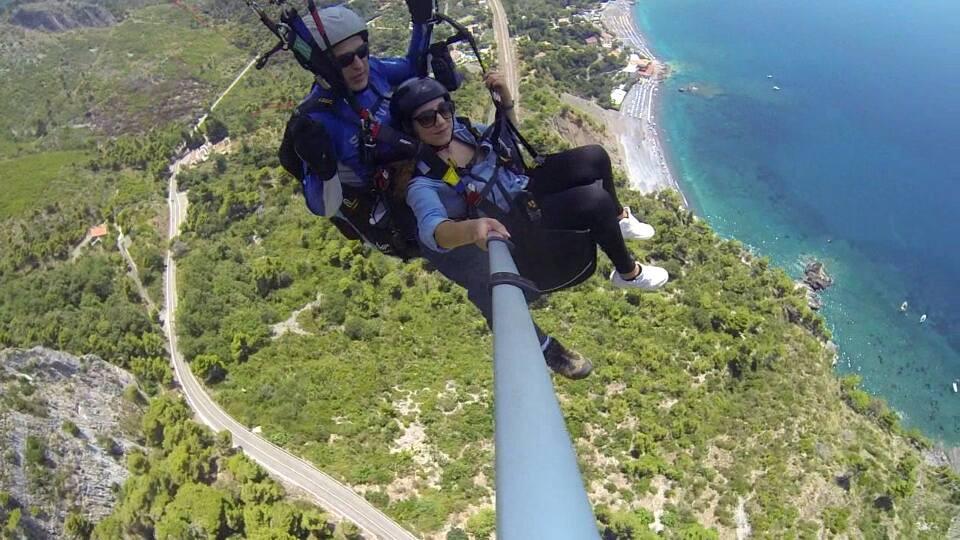 Volo in parapendio biposto ad Acquafredda di Maratea