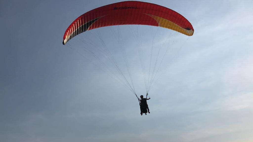 Volo in parapendio biposto a Castel San Giorgio (SA)