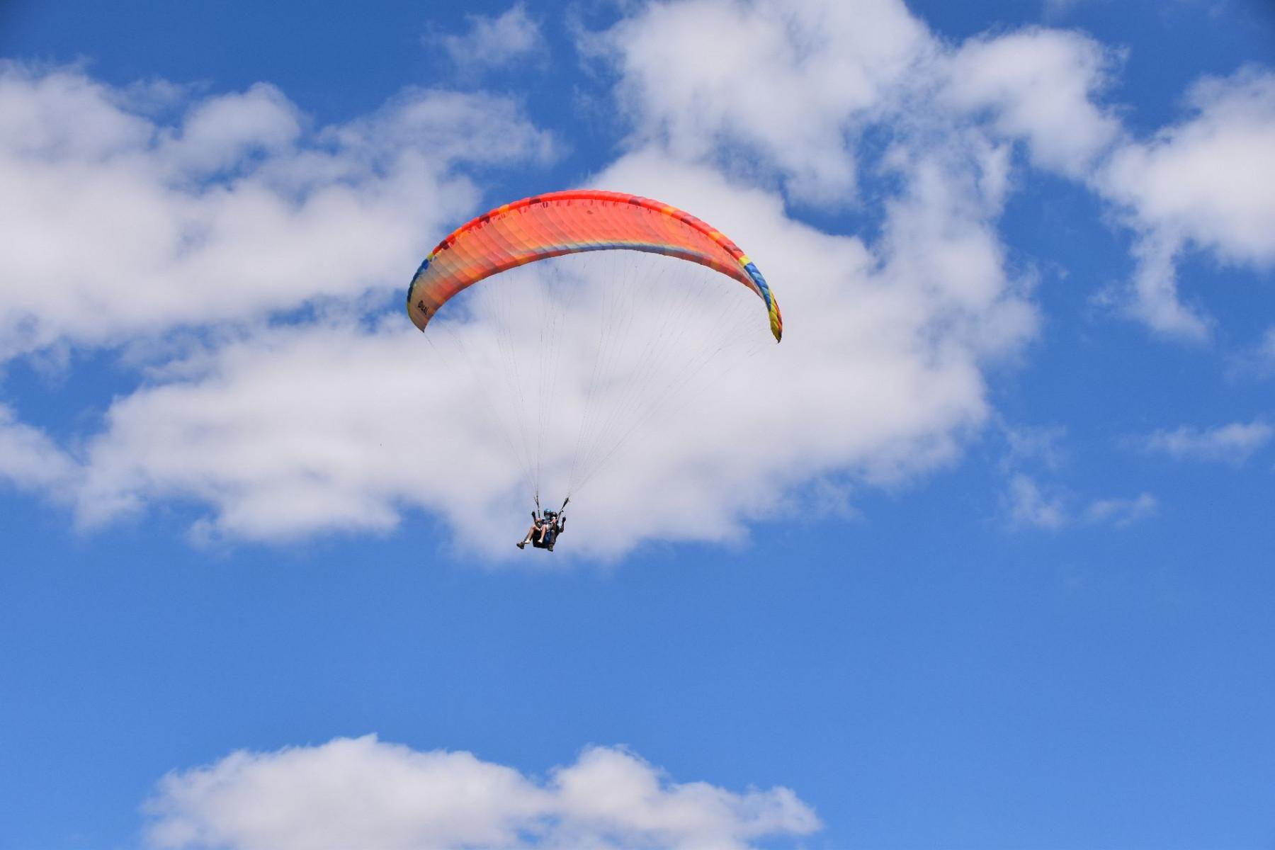 Volo in parapendio biposto a Castelluccio di Norcia