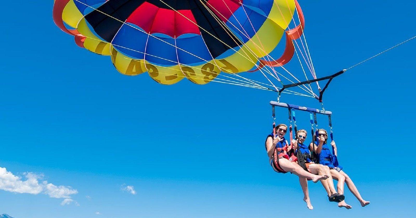 Volo in Parasail sulla Penisola Sorrentina