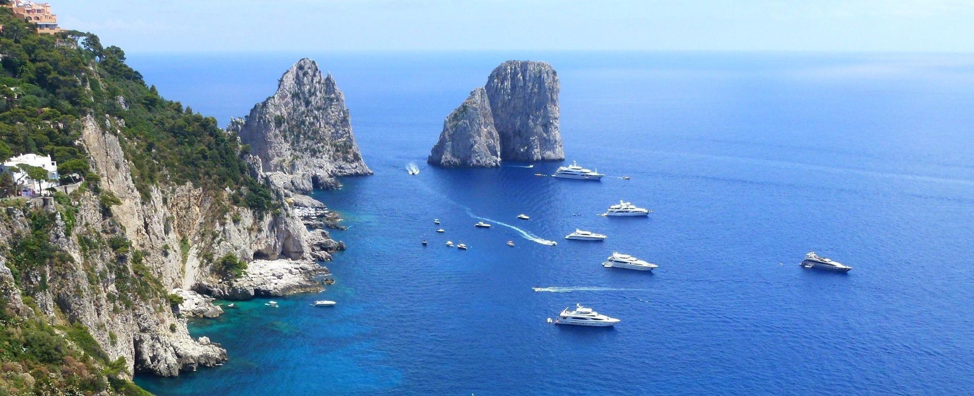 Volo privato in elicottero a Capri