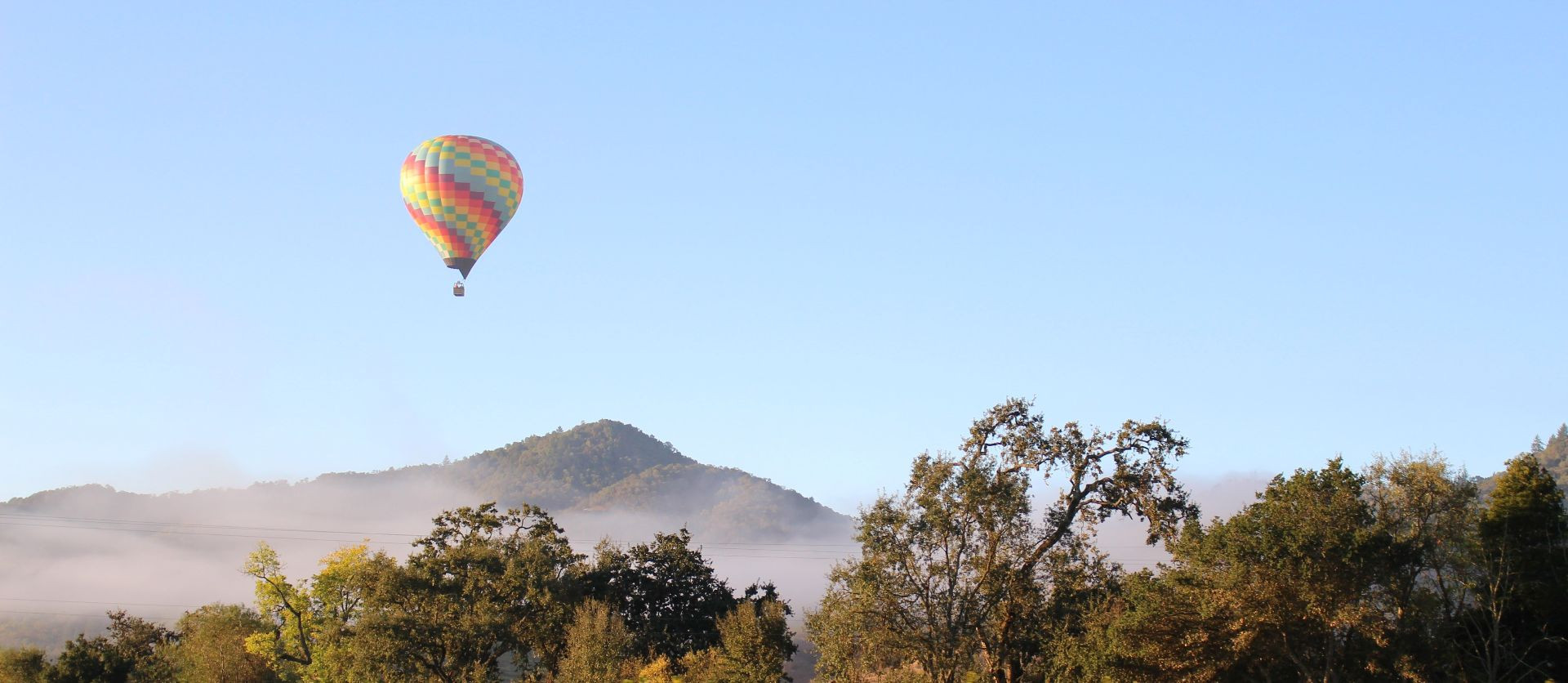 Volo privato in mongolfiera sull'altopiano della Sila
