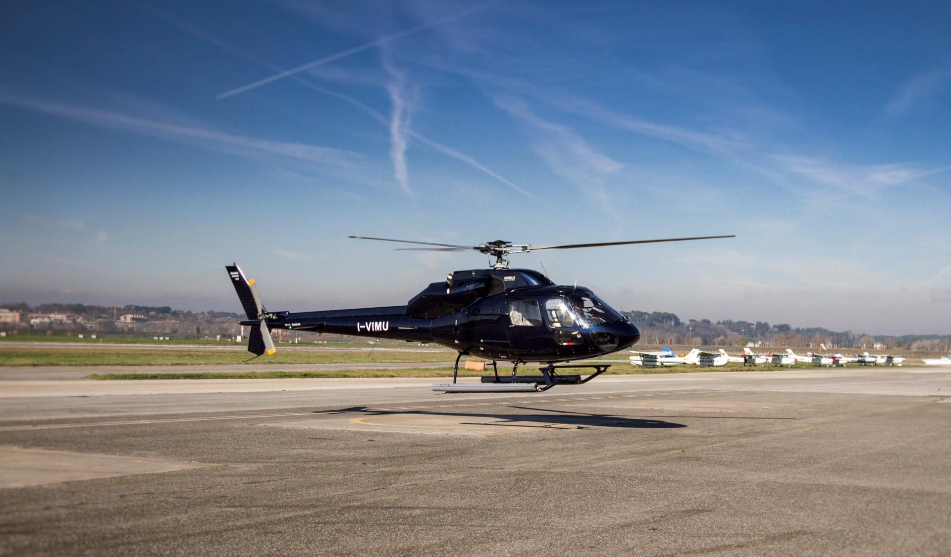 Volo panoramico privato in elicottero a Roma