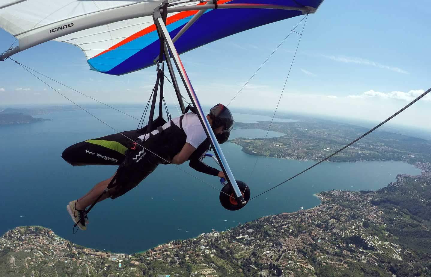 Volo Tandem in Deltaplano sul Lago di Garda