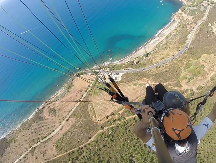 Volo tandem in parapendio a Taormina e provincia di Messina