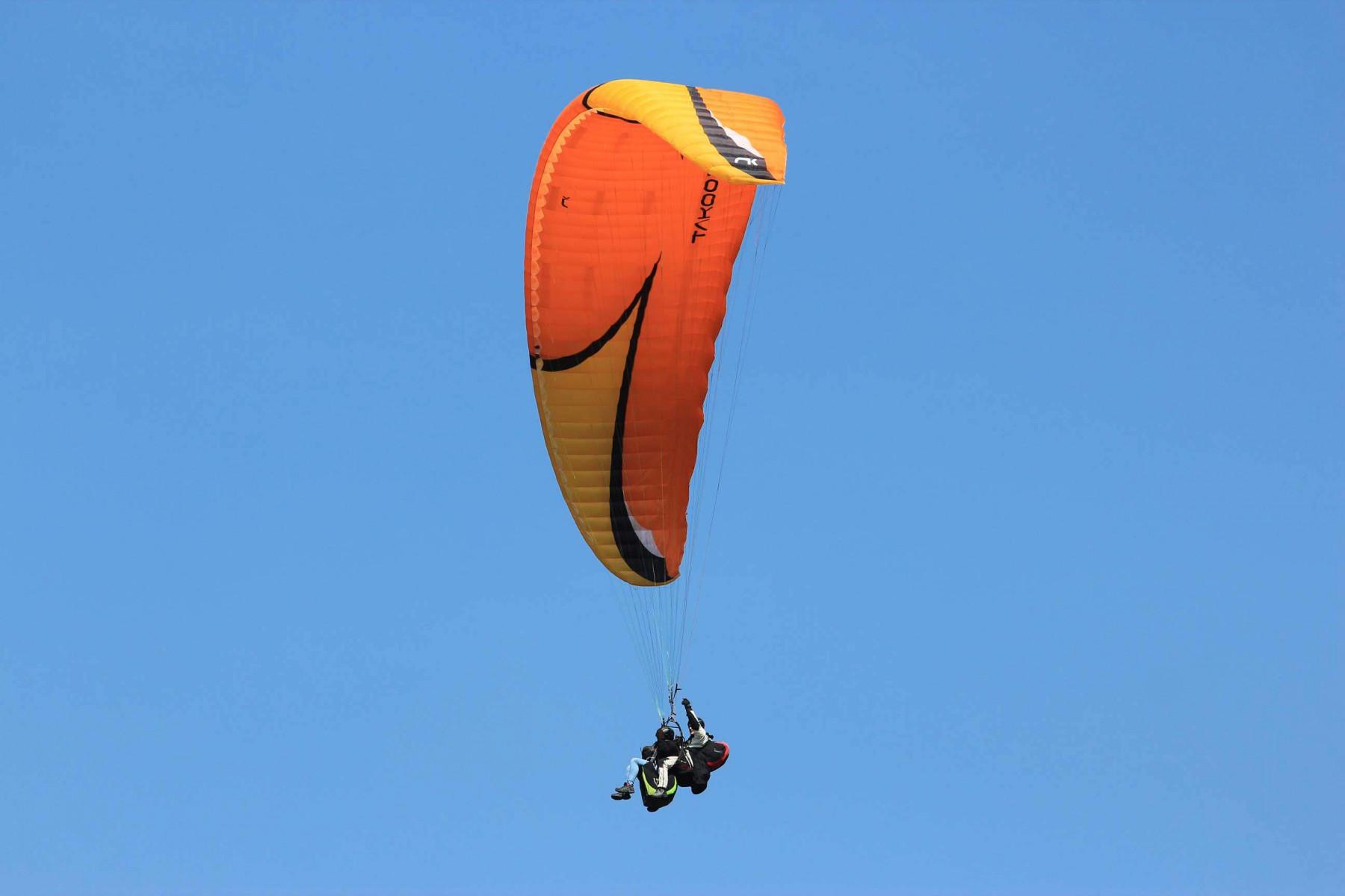 Volo in Parapendio Biposto sul Lago di Garda