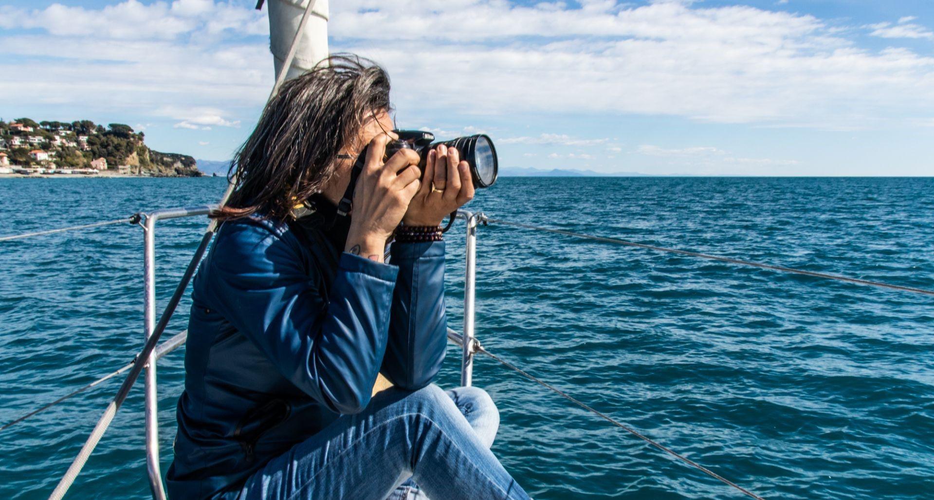 Weekend fotografico in barca a vela a Portofino