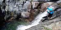 Canyoning Rio Lerca in provincia di Genova