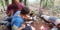 Corso di sopravvivenza per genitori e figli nei boschi lucchesi