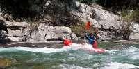 Discesa in packraft sul torrente Lima a Bagni di Lucca