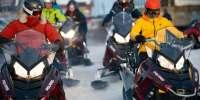 Escursione serale in motoslitta con cena al Passo del Tonale (BS)