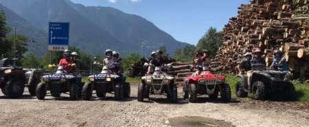 Escursione panoramica in quad in Valtellina