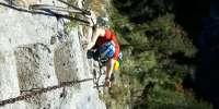 Ferrata al Monte Procinto sulle Alpi Apuane (Lucca)