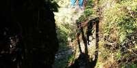 Ferrata Rio Sallagoni al castello di Drena in Trentino