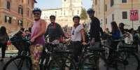 Rome by night: tour privato in e-bike e aperitivo a Trastevere