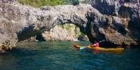 Tour della Costiera Amalfitana in kayak