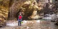 Trekking fluviale negli Stretti di Giaredo (Massa Carrara)