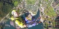 Volo Serale in Parapendio in Valle di Ledro